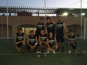 Equipo campeón del torneo y la mejor jugadora.
